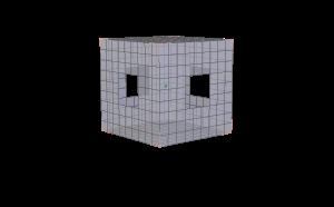 Holey Cube 002